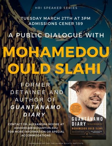 A PUBLIC DIALOGUE Mohamedou Slahi