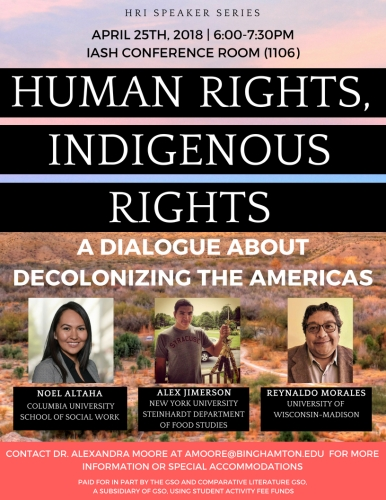 Human Rights, Indigenous Rights Flyer (2)