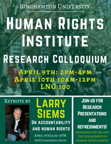 Human Rights Institute Colloquium Flyer (1)